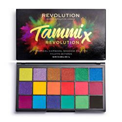 Paletă farduri de ochi Tammi Tropical Carnival 18 g