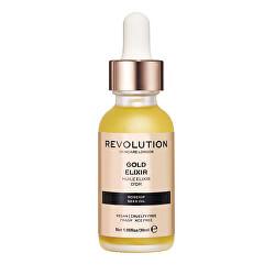 Pleťové sérum s šípkovým olejem (Revolution Skincare Rosehip Seed Oil-Gold Elixir) 30 ml