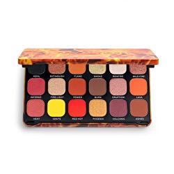 Paleta farduri de ochi Forever Flawless Fire (Eye Shadow Palette) 19,8 g