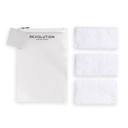 Odličovací ručníky Skincare (Microfibre Face Cloths) 3 ks