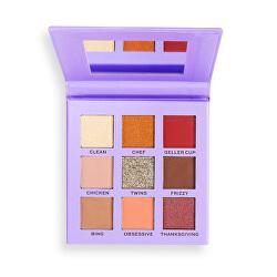 Paletka očních stínů X Friends Monica (Shadow Palette) 9 g
