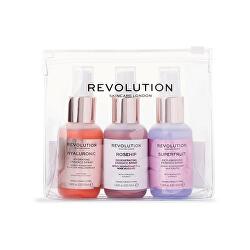 Sada pečujících sprejů pro hydrataci pleti Skincare Hello Hydration (Mini Essence Spray Kit) 3 x 50 ml