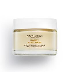 Rozjasňující pleťová maska Skincare Honey & Oatmeal (Nourish & Glow Face Mask) 50 ml