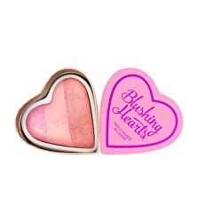 Srdcová tvářenka Vášnivé srdce I LOVE MAKEUP (Hearts Blusher Candy Queen of Hearts) 10 g