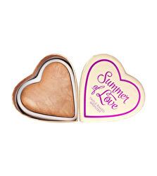 Szívbetegségek bronz por, Summer of Love (bronzer) 10 g