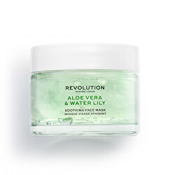 Upokojujúca pleťová maska Skincare Aloe Vera & Water Lily (Soothing Face Mask) 50 ml
