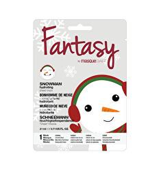 Hydratační plátýnková maska Fantasy Snowman (Hydrating Sheet Mask) 21 ml