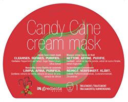 Čisticí krémová pleťová maska Candy Cane (Cream Mask) 1 ks