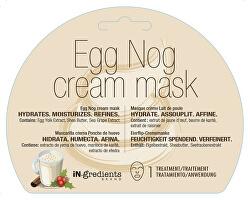 Hydratační krémová pleťová maska Egg Nog (Cream Mask) 1 ks