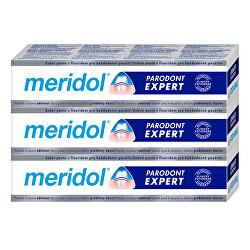 Fogkrém vérző íny és parodontitis ellen Paradont Expert tripack 3 x 75 ml