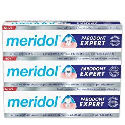Zubní pasta proti krvácení dásní a parodontitidě Paradont Expert tripack 3 x 75 ml