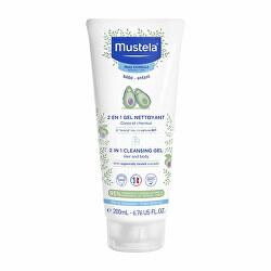 Dětský sprchový gel na tělo a vlasy (2 in 1 Cleansing Gel) 200 ml