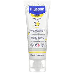 Dětský vyživující krém na obličej se včelím voskem pro suchou pleť (Nourishing Face Cream with Cold Cream) 40 ml