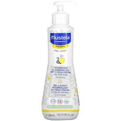 Dětský vyživující čisticí gel se včelím voskem pro suchou pokožku (Nourishing Cleansing Gel with Cold Cream) 300 ml