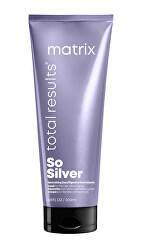 Hloubková maska pro stříbrné vlasy Total Results So Silver (Color Obsessed Triple Power Mask) 200 ml