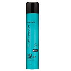 Lak pro vlasy bez objemu Total Results High Amplify (Volume Hairspray) 400 ml