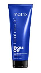 Maska pro neutralizaci žlutých tónů blond vlasů Total Results (Brass Off Color Obsessed) 200 ml