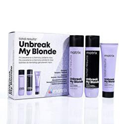 Dárková sada pro zesvětlené vlasy Total Results Unbreak My Blonde