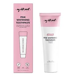 Pasta de dinți remineralizanta pentru dinți sensibili cu hidroxiapatita (Pink Whitening Toothpaste) 50 ml