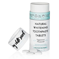 Pasta de dinți pentru albire în tablete(Natural Whitening Toothpaste Tablets) 60 bucăți