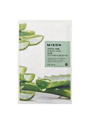 Plátýnková 3D maska s aloe vera pro zklidnění a hydrataci pleti Joyful Time (Essence Mask Aloe) 23 g