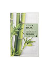Plátýnková 3D maska s bambusem pro hydrataci a zjemnění pleti Joyful Time (Essence Mask Bamboo) 23 g