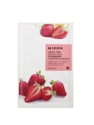 Plátýnková 3D maska s jahodami pre zjemnenie a Antioxidácia- pleti Joyful Time (Essence Mask Strawberry) 23 g