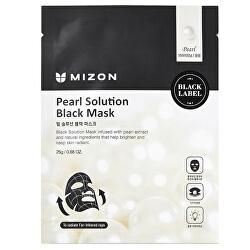 Rozjasňujúce maska s výťažkami z perál (Pearl Solution Black Mask) 25 g