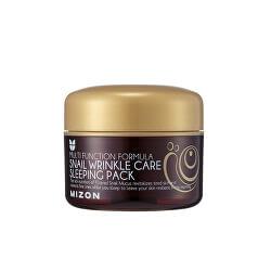 Regenerační noční pleťová maska s filtrátem hlemýždího sekretu 50% pro omlazení a výživu pleti (Snail Wrinkle Care Sleeping Pack) 80 ml