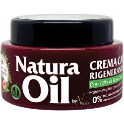 Regenerační krém na vlasy s růžovým olejem (Regenerating Hair Cream) 300 ml