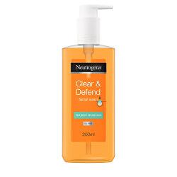 Čisticí gel Clear & Defend (Facial Wash) 200 ml