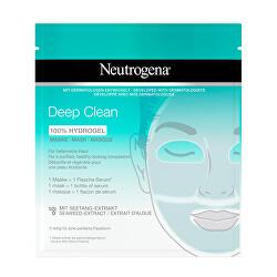 Hydrogelová maska Deep Clean (100 % Hydrogel Mask) 1 ks