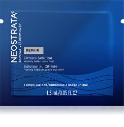 Pleť ová peelingová starostlivosť Skin Active Repair Citrate Solution (Weekly AHA Home Peel) 1,5 ml