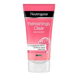 Osviežujúci peeling s výťažkom z ružového grepu Pink Grapefruit refreshingly Clear (Daily Exfoliator) 150 ml