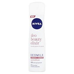 Antiperspirant spray Deo Beauty Elixir Sensitiv e Deomilk 150 ml