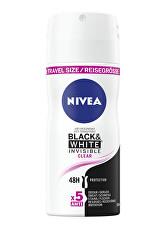 Spray antiperspirant invizibil pentru Black & White Clear mini (Antiperspirant) 100 ml