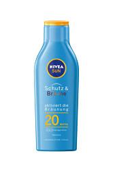 Intenzívne mlieko na opaľovanie SPF 20 Sun (Protect & Bronze Sun Lotion) 200 ml