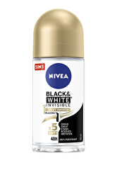 Kuličkový antiperspirant bez alkoholu Invisible Black & White Silky Smooth 50 ml