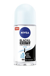 Kuličkový antiperspirant Invisible For Black & White Pure 50 ml