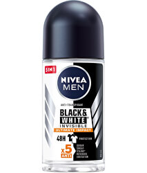 Kuličkový antiperspirant Men Black & White Invisible Ultimate Impact 50 ml