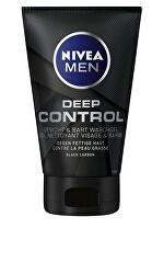 Mycí gel na obličej a vousy Deep (Wash Gel) 100 ml