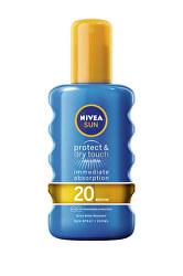 Neviditeľný sprej na opaľovanie SPF 20 Sun (Invisible Protection Transparent spray) 200 ml