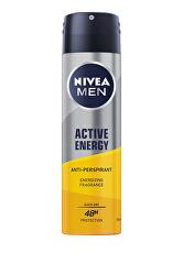 Antiperspirant ve spreji Men Active Energy (Anti-perspirant) 150 ml
