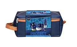 Dárková sada s kosmetickou taškou Protect & Care