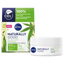 Denní krém s konopným olejem Naturally Good (Deeply Nourishing Day Care) 50 ml