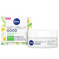 Upokojujúci denný krém s harmančekom Naturally Good (Sensitive Day Care ) 50 ml