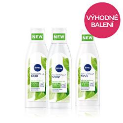 Zvýhodněné balení (Čisticí pleťové mléko Naturally Good 200 ml + Čisticí pleťová voda Naturally Good 200 ml)