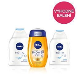 Zvýhodněné balení (Sprchový olej 200 ml+ Emulze pro intimní hygienu 250 ml)