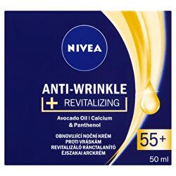 Obnovující noční krém proti vráskám 55+ (Anti-Wrinkle + Revitalizing) 50 ml