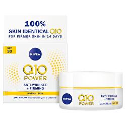 Zpevňující denní krém proti vráskám Q10 Power SPF 30 (Anti - Wrinkle + Firming Day Cream) 50 ml